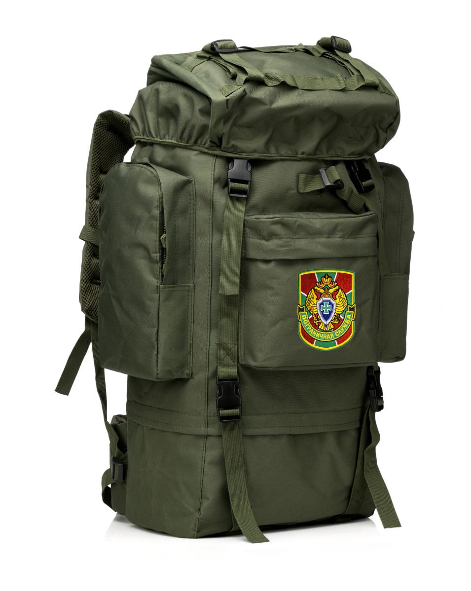 Армейский тактический рюкзак с в нашивкой Пограничной службы - купить в подарок