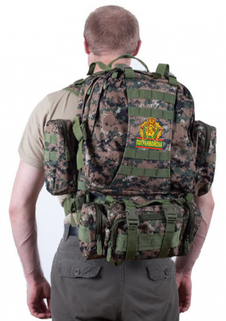 Армейский улучшенный рюкзак US Assault Погранвойска - купить оптом