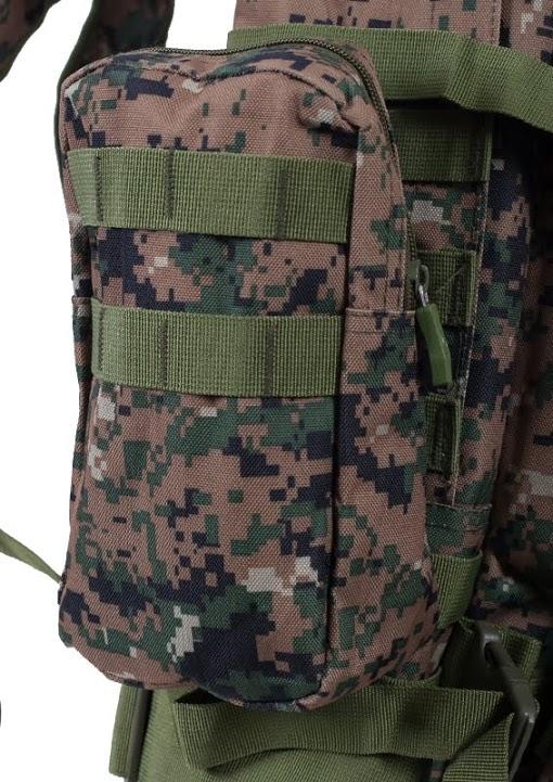 Армейский вместительный рюкзак с нашивкой Танковые Войска - заказать в розницу