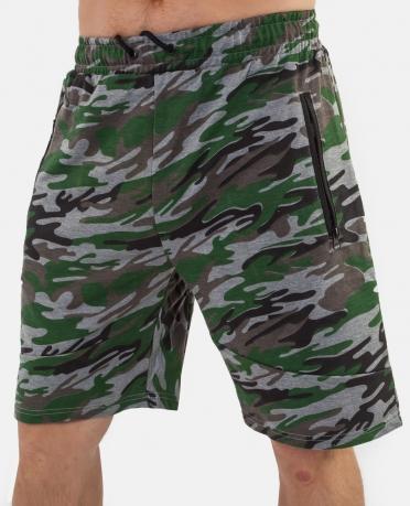 Армейские шорты-камуфляж New York Athletics.
