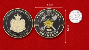 Australian Army 11th Combat Engineer Squadron 11th Engineer Regiment Challenge Coin