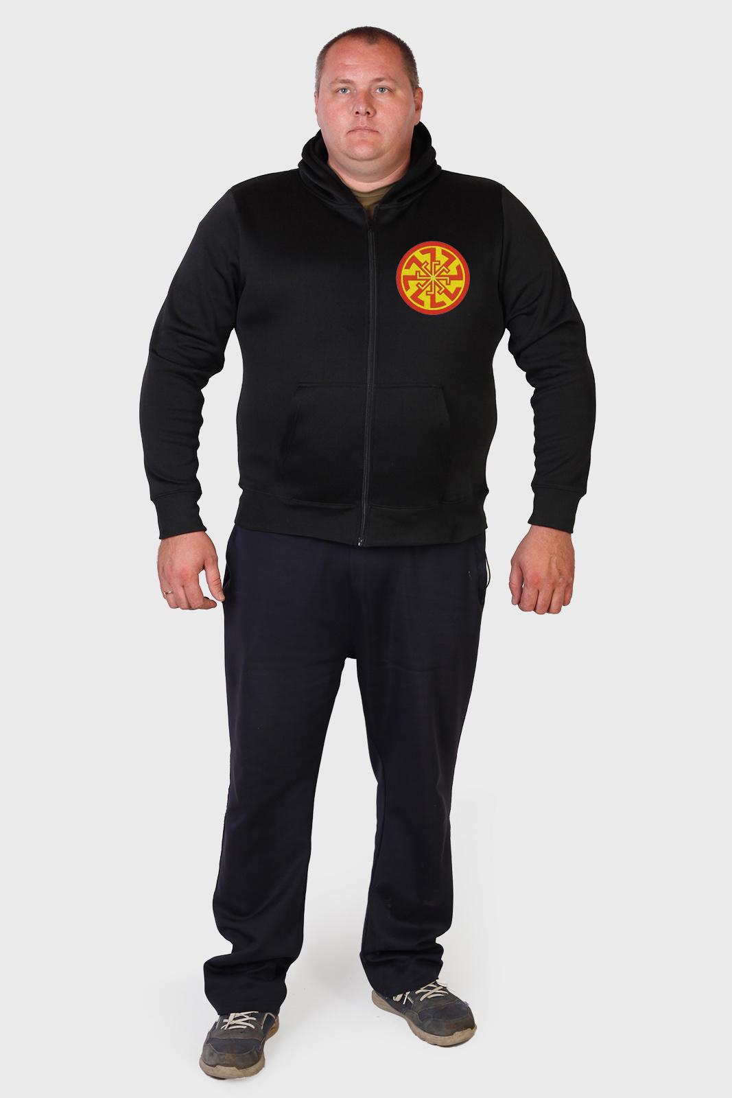 Купить на сайте Военпро мужскую толстовку с символом СВЕТОЧА