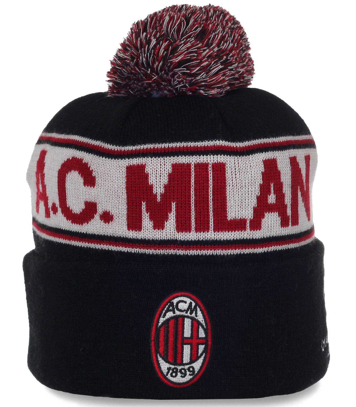 Авангардная шапочка болельщика  A.C. Milan
