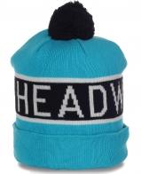 Авангардная шапочка с помпоном для любителей зимнего экстрима от Headwear