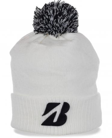 Авангардная спортивная шапочка с помпоном от Bridgestone