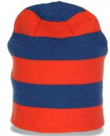Авангардная женская шапка бини яркой расцветки общедоступная стильная модель