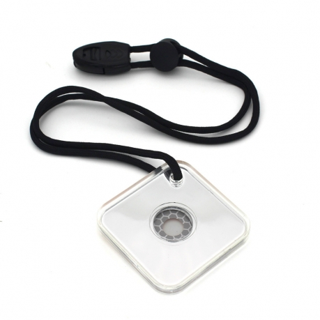 Аварийно-спасательное сигнальное зеркало выживальщика со свистком