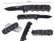 Аварийно-спасательный складной нож Tiger Knives Fire Fighter (США)