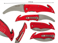 Аварийный нож с серрейтором T.O.E. Pro