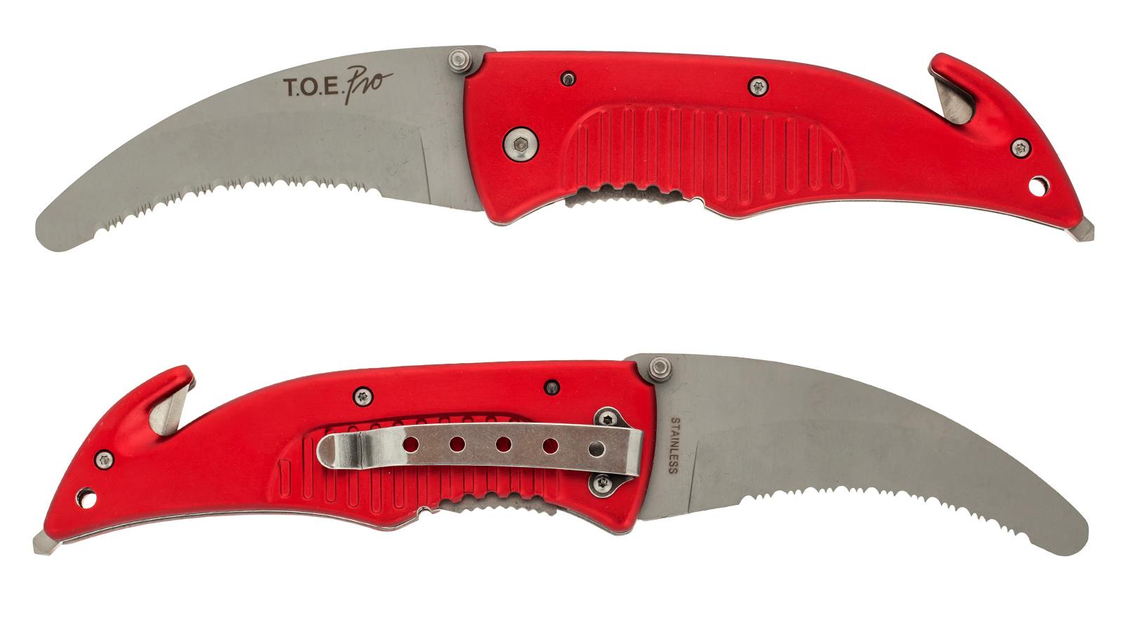 Аварийный нож с серрейтором T.O.E. Pro - купить с доставкой