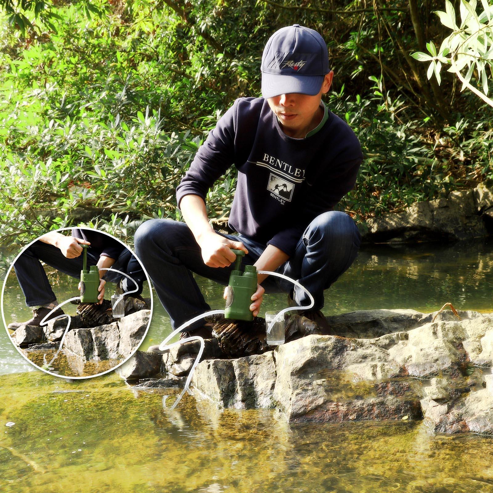 Аварийный очиститель воды выживальщика