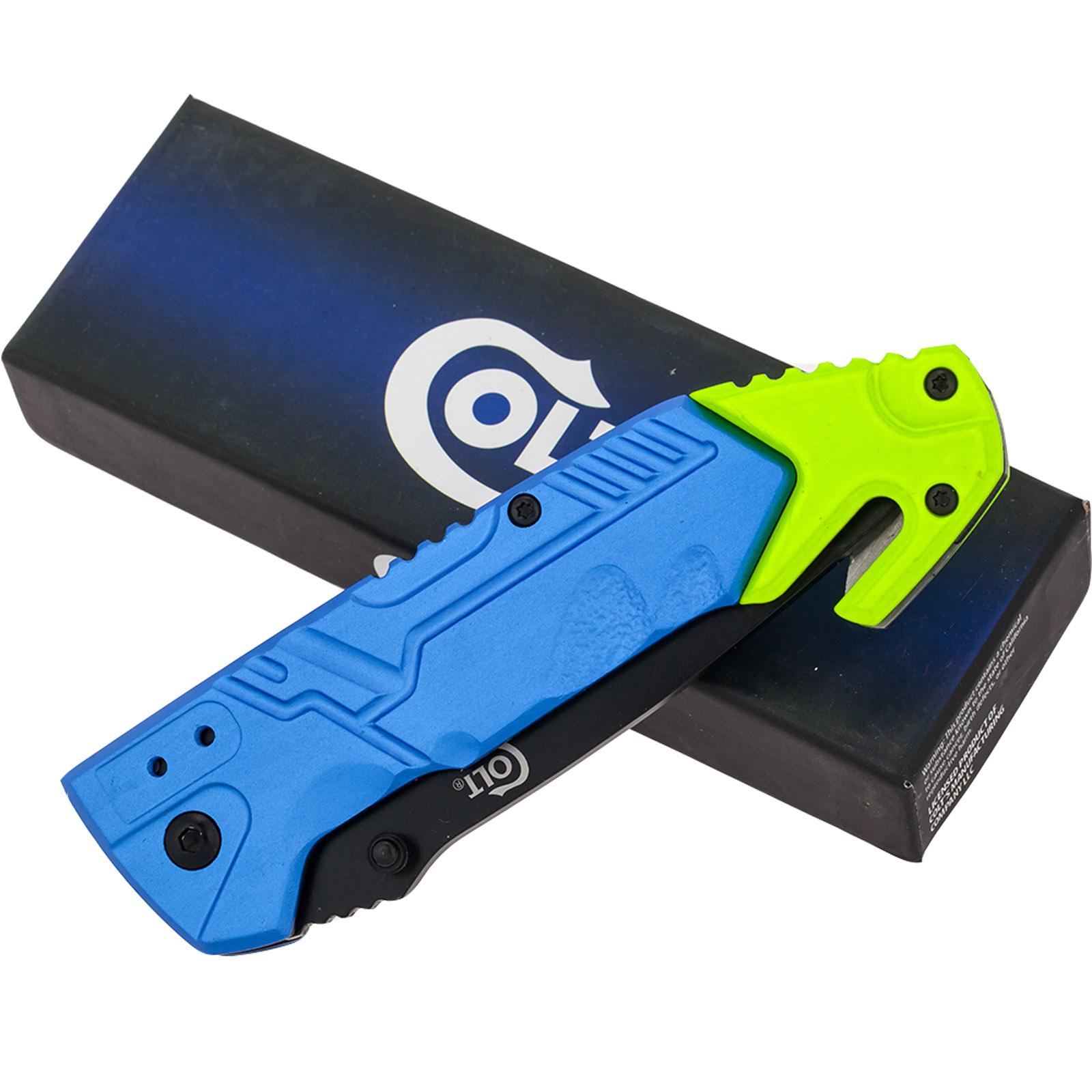 Аварийный складной нож со стеклобоем Colt Rescue Linerlock CT737 (США) - заказать оптом
