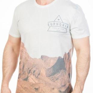 """Австралийская мужская футболка """"Euphoria"""" (Kmart)"""