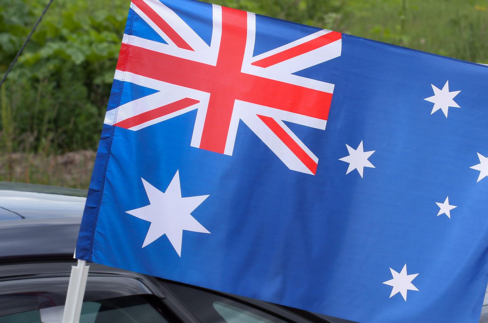 Австралийский флаг на машину
