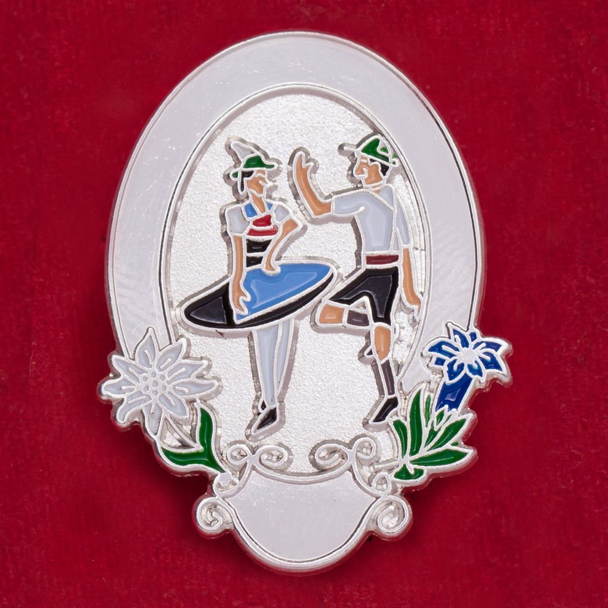 "Австрийский значок ""Традиции Тироля"""