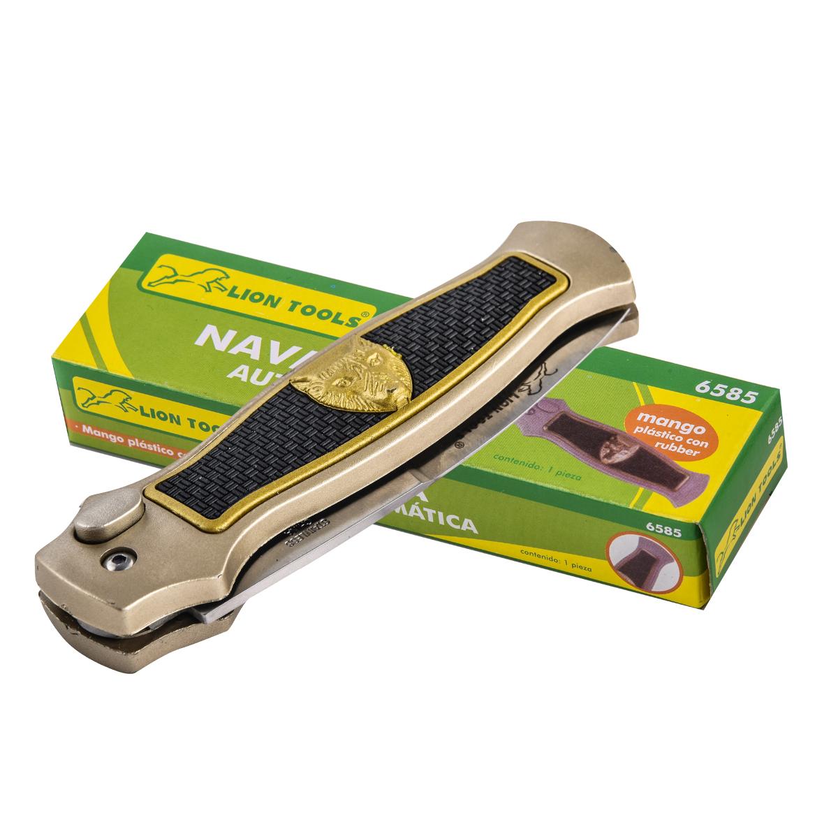 Автоматический кнопочный нож Lion Tools Navaja Automatica 6585 (Мексика)