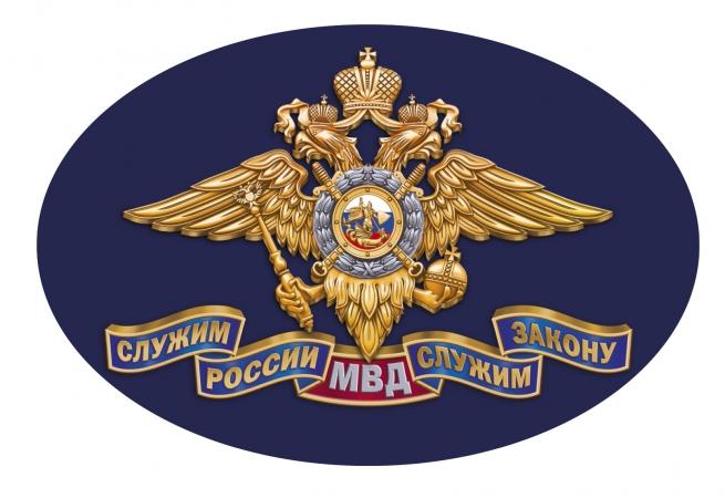 Автомобильная наклейка МВД России
