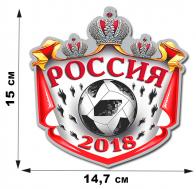 Автомобильная наклейка Россия.
