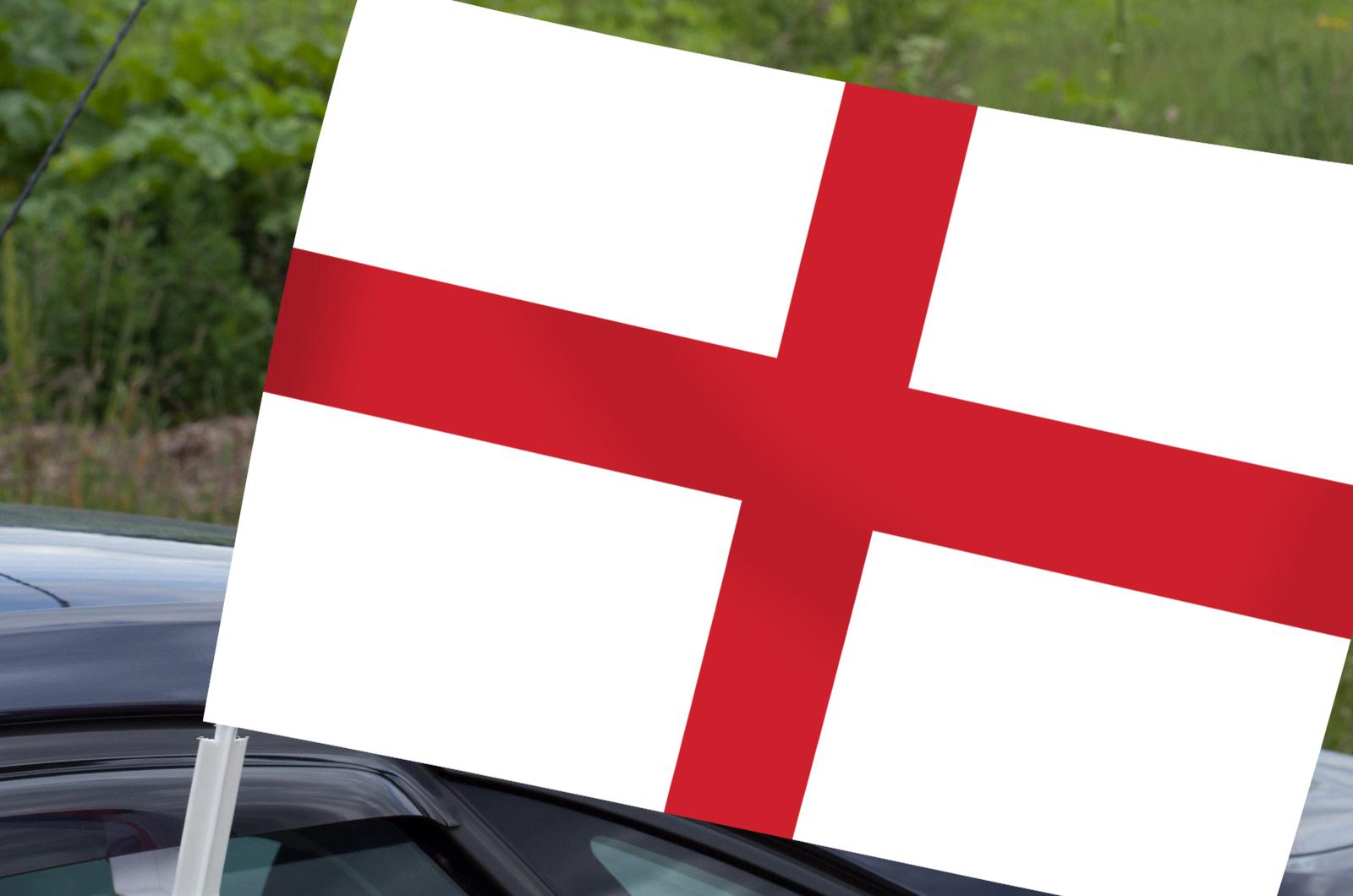 Автомобильный флаг Англии