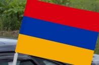 Автомобильный флаг Армении