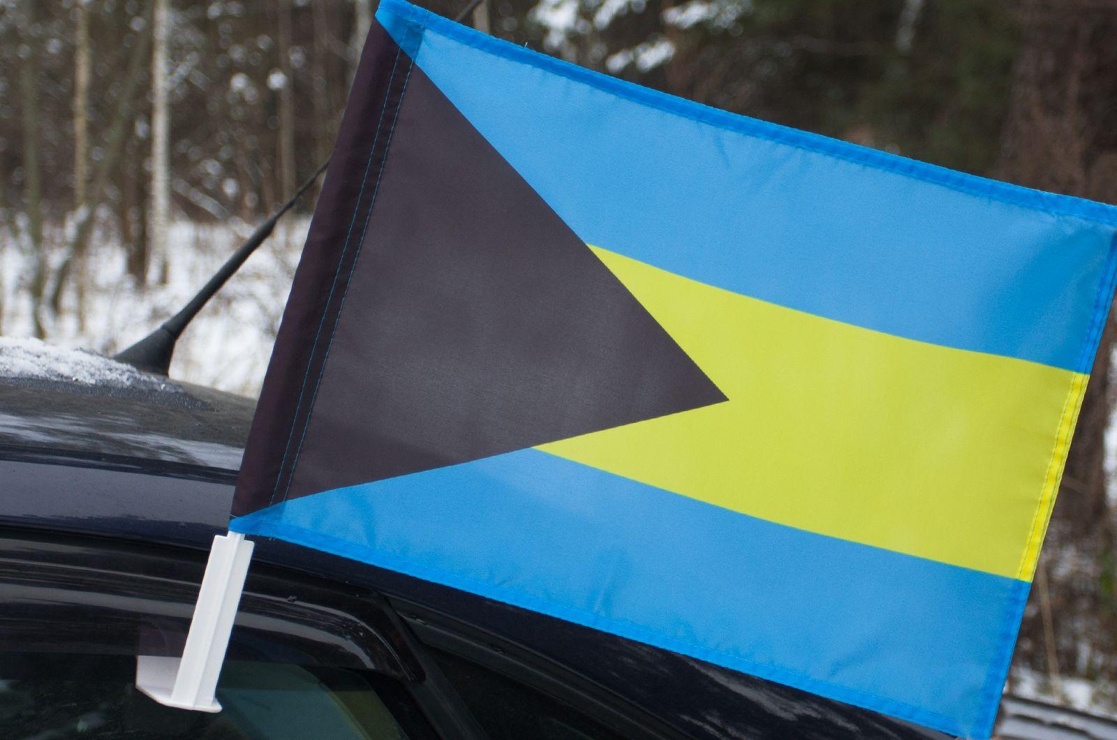 Автомобильный флаг Багамских островов