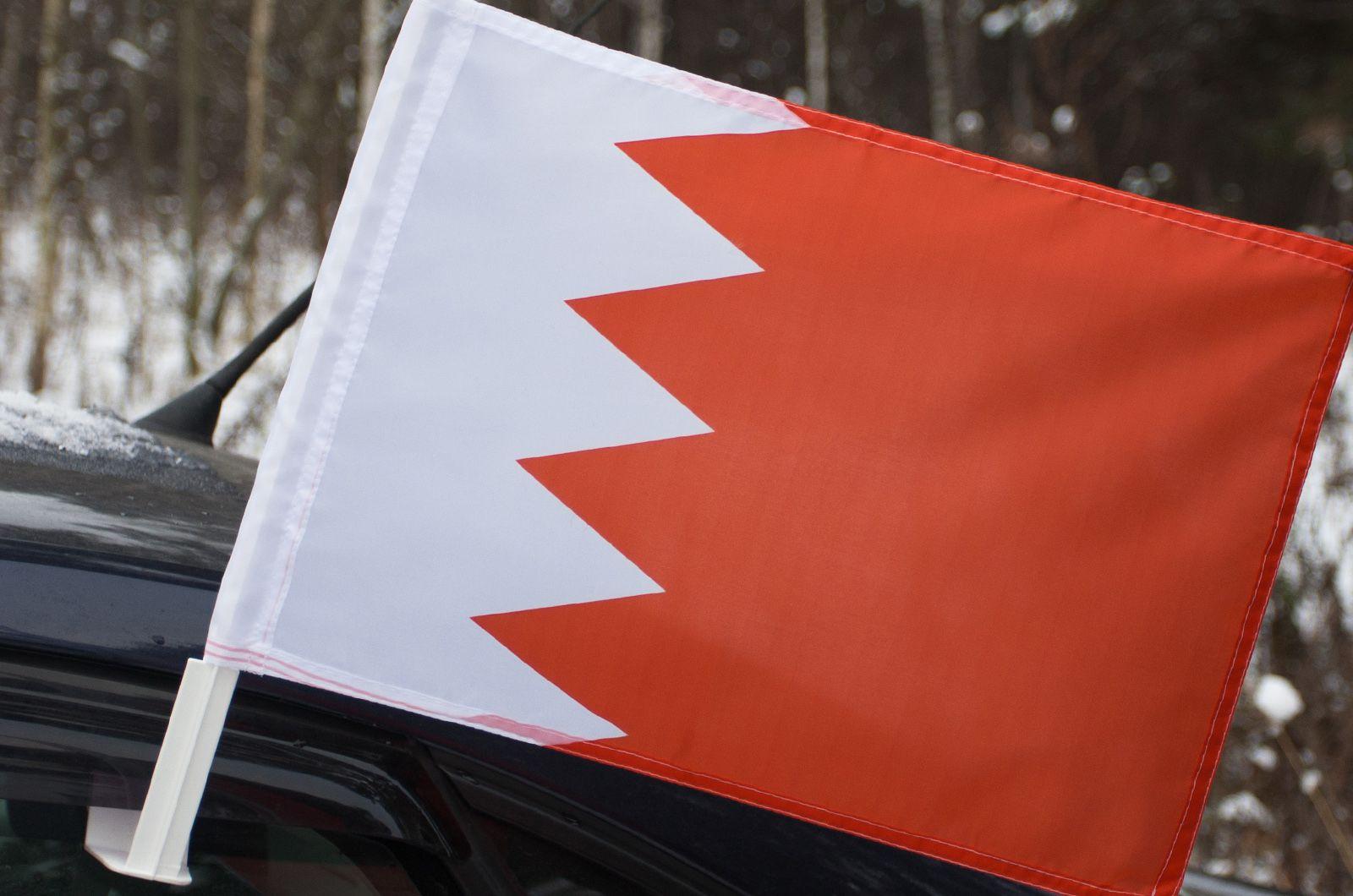 Автомобильный флаг Бахрейна