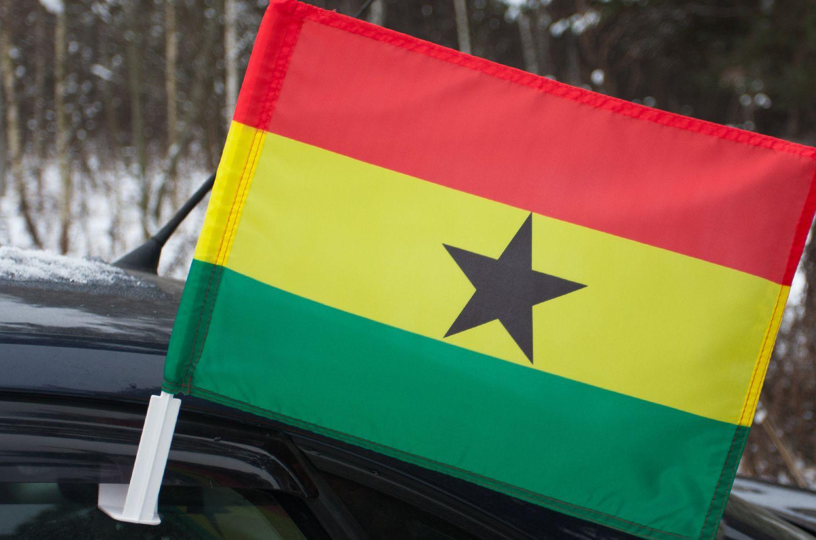 Автомобильный флаг Ганы