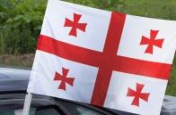 Автомобильный флаг Грузии