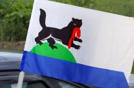 Автомобильный флаг Иркутска