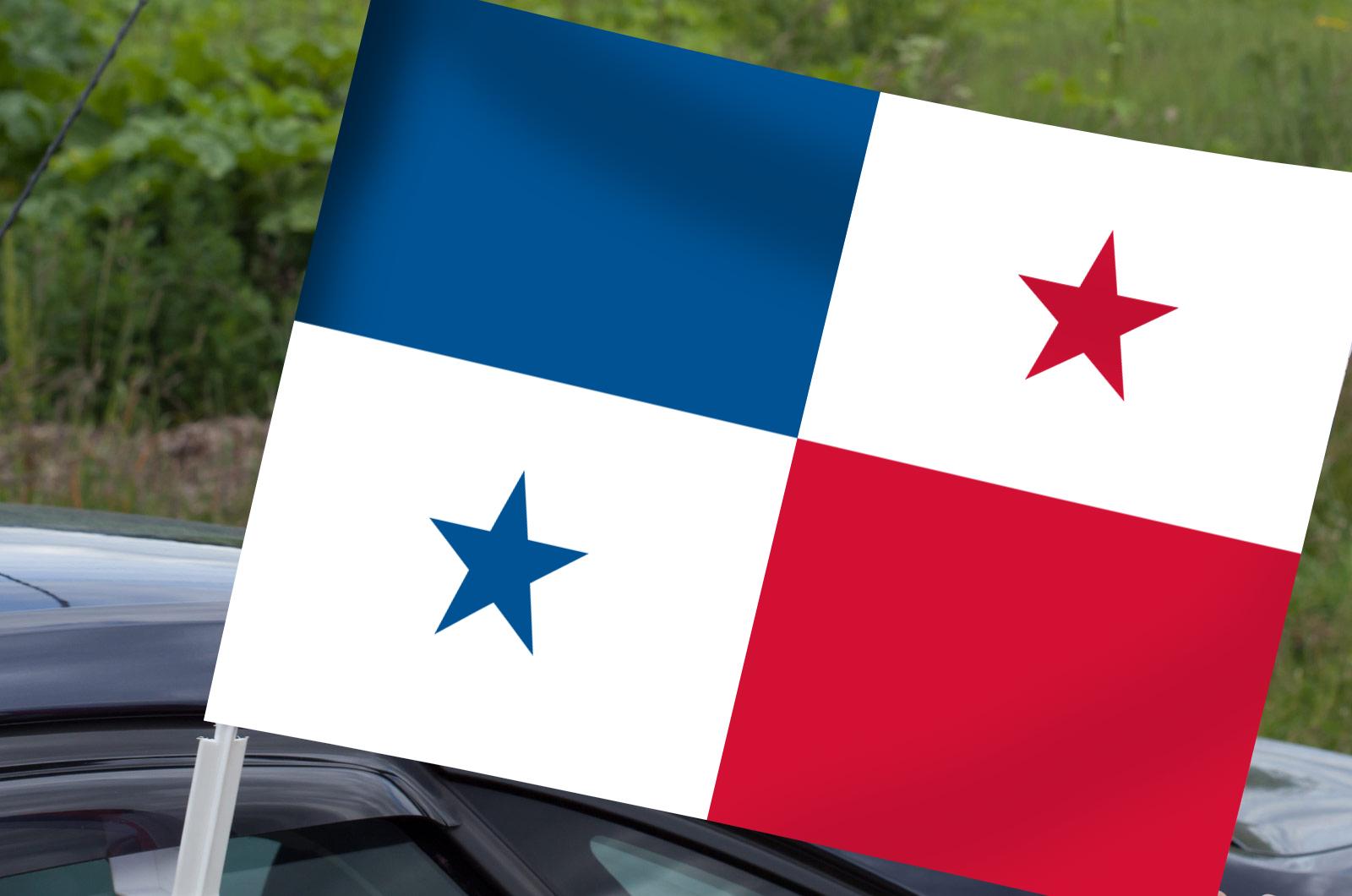 Автомобильный флаг Панамы