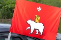 Автомобильный флаг Перми