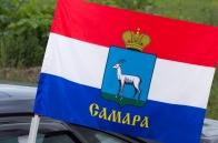 Автомобильный флаг Самары