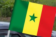 Автомобильный флаг Сенегала