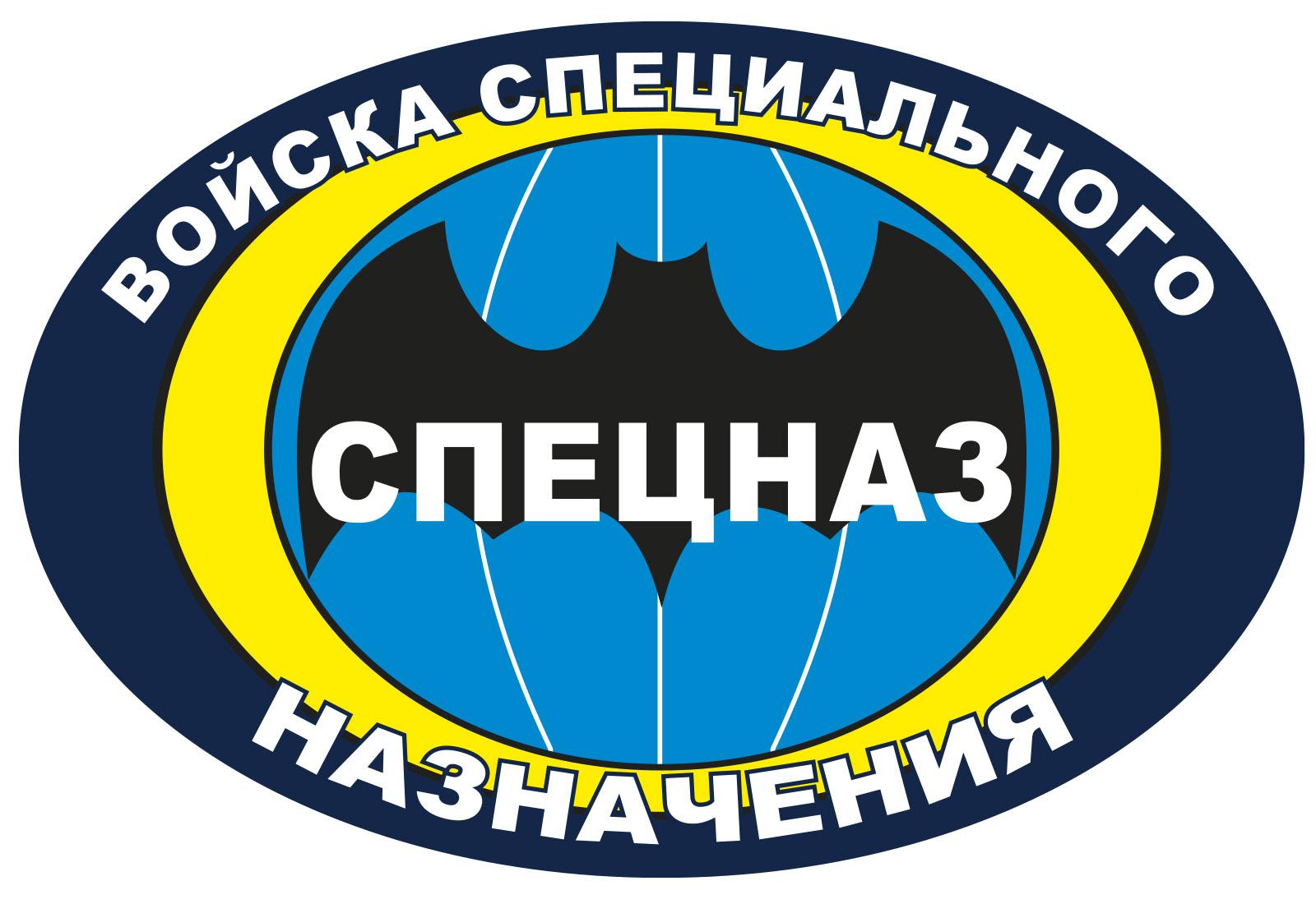 """Автонаклейка Спецназа """"Войска специального назначения"""""""