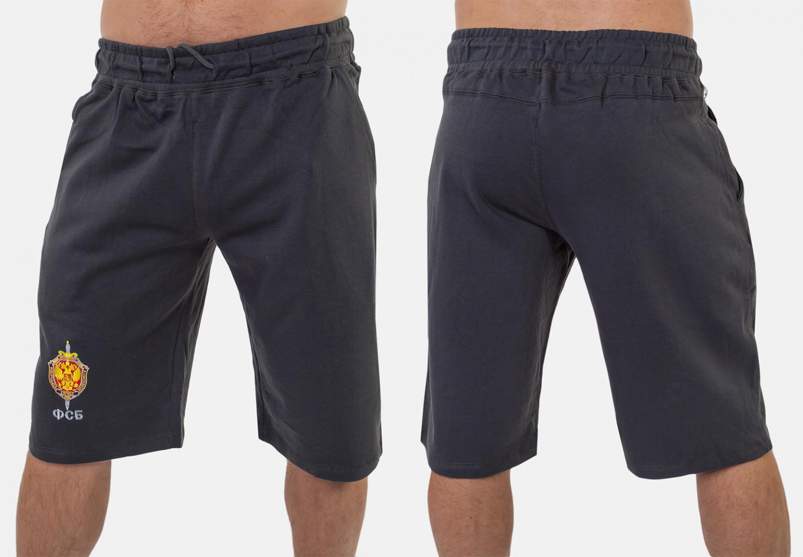 Авторитетные мужские шорты с эмблемой ФСБ