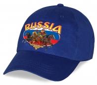 Авторская кепка с эмблемой национальной символики Russia для клиентов и подписчиков Военпро. Отменный русский сувенир по выгодной цене!
