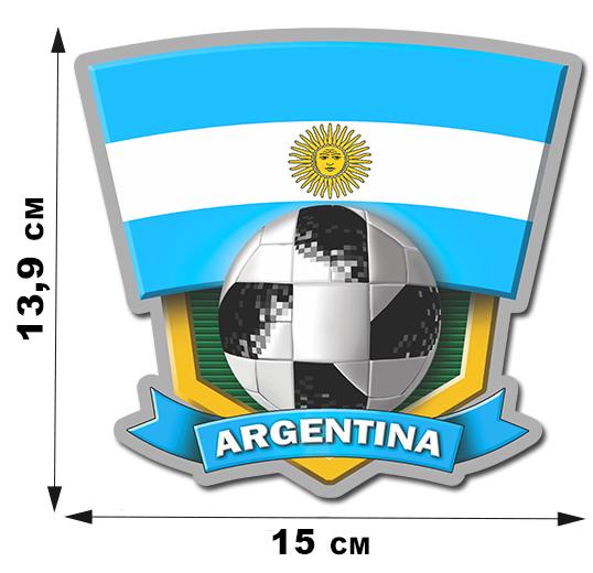 Авторская наклейка ARGENTINA
