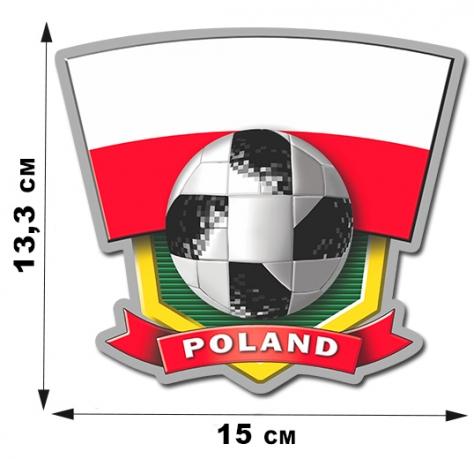 Авторская наклейка POLAND