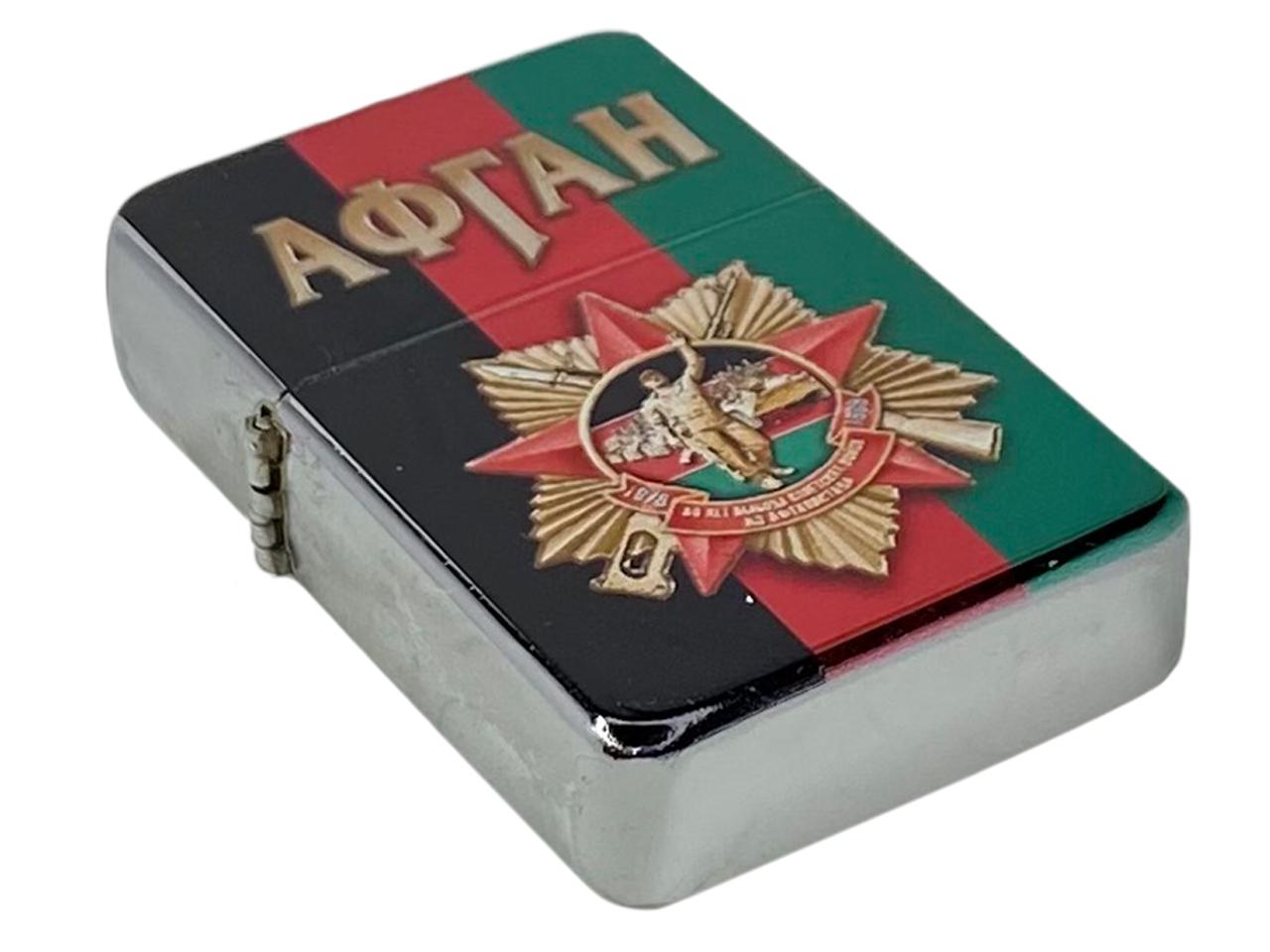 """Авторская зажигалка """"Афган"""" бензиновая"""