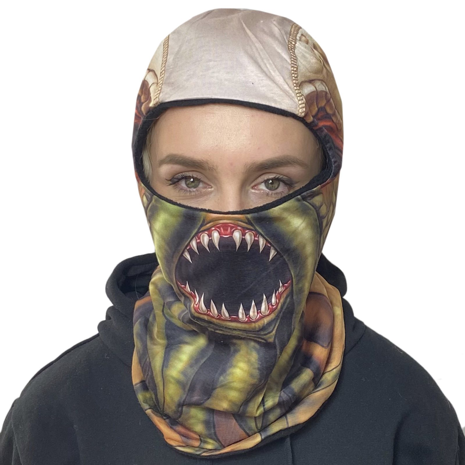 Байкерская балаклава Wild Wear Cthulhu с защитой от коронавируса