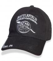 Счастливая байкерская бейсболка Battlefield.