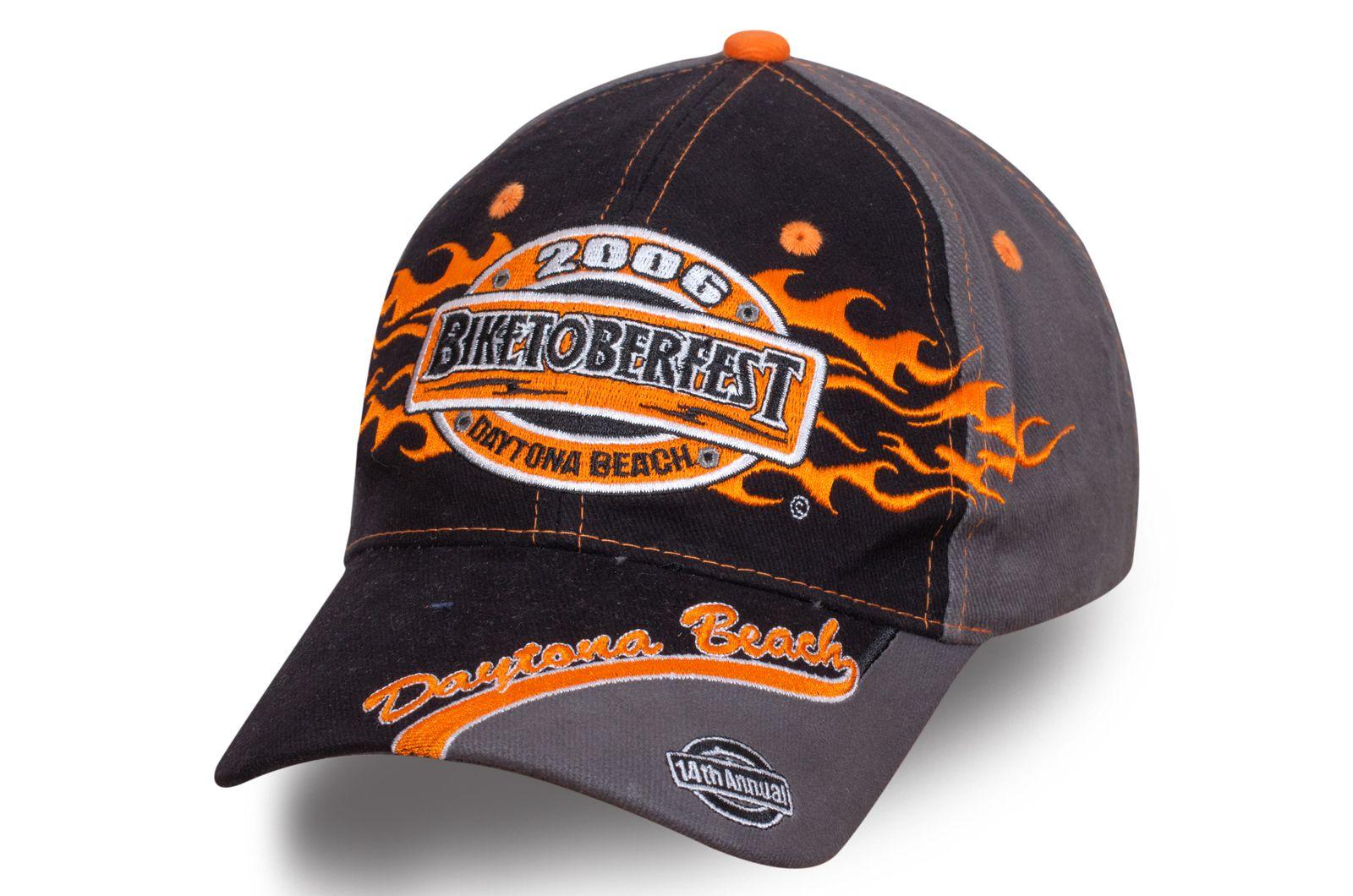 Байкерская бейсболка Biketoberfest