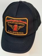 Байкерская бейсболка Harley-Davidson с сеткой