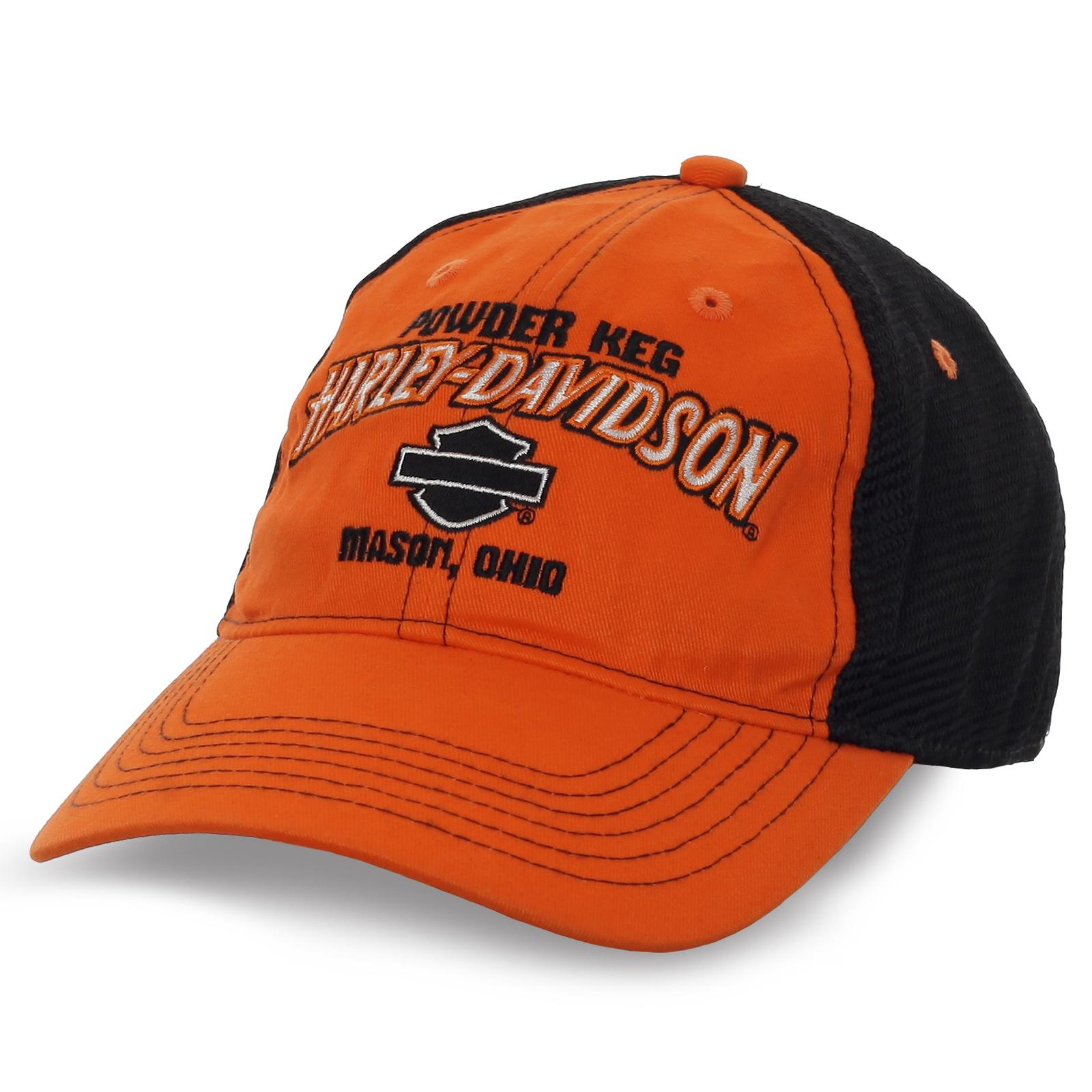 Байкерская бейсболка Harley Davidson