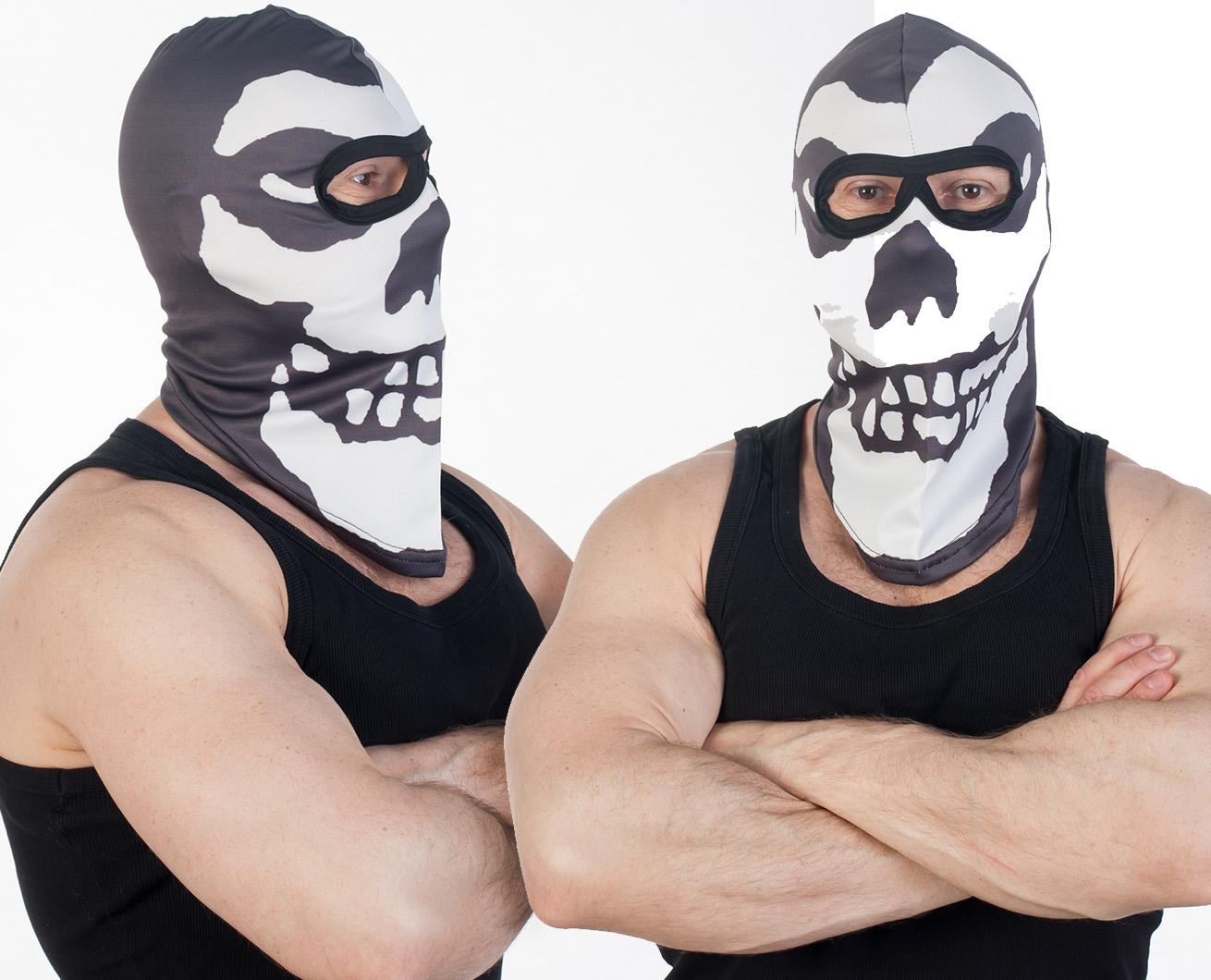 Байкерская маска по выгодной цене