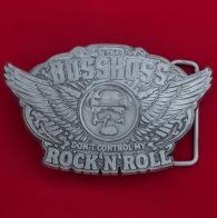 Байкерская пряжка для ремня немецкой рок-группы The BossHoss