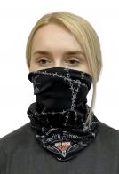 Байкерский шарф-маска