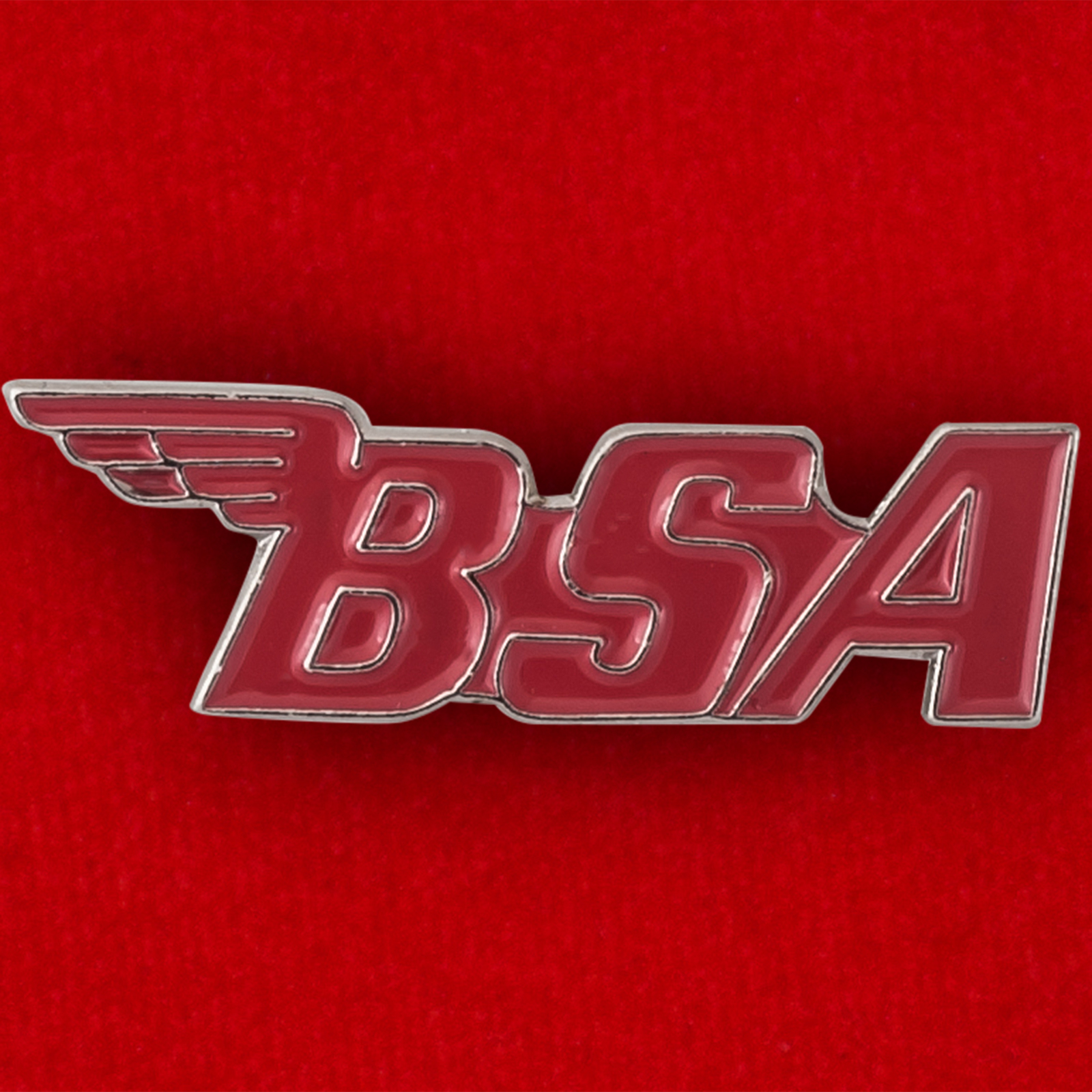 Байкерский значок BSA