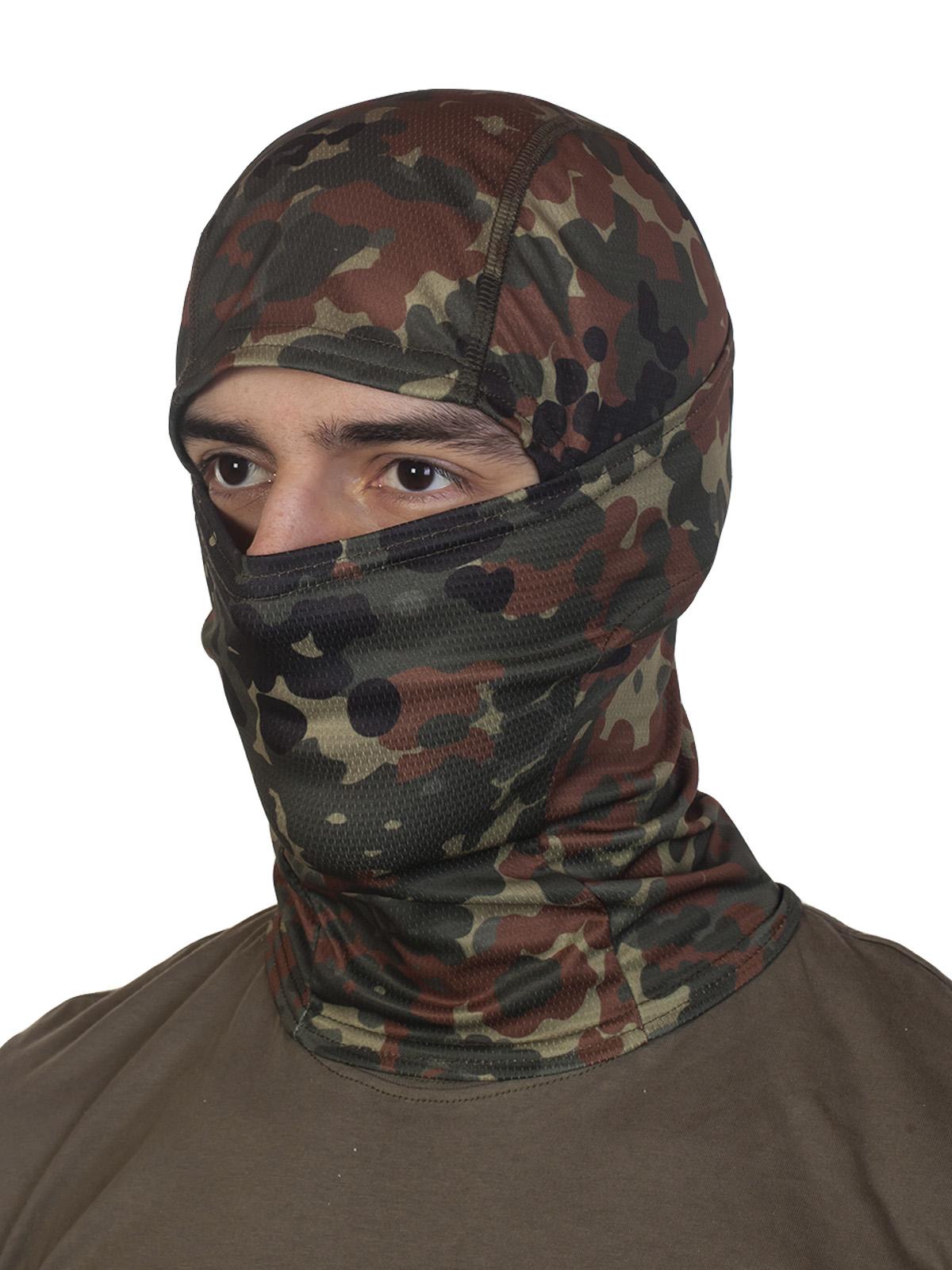 Купить в интернет магазине тактическую балаклаву в камуфляже