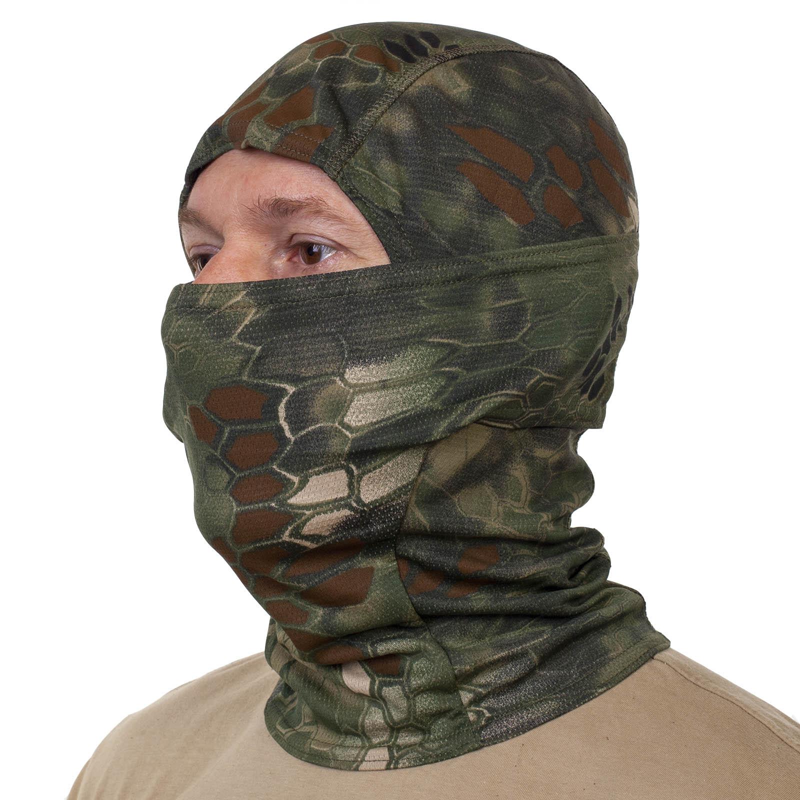 Купить в интернет магазине маску балаклаву с камуфляжным рисунком